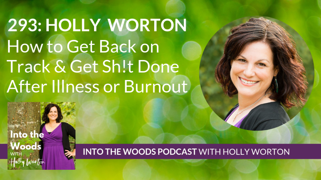 293 Holly Worton ~ How to Get Back on Track & Get Sh!t Done After Illness or Burnout