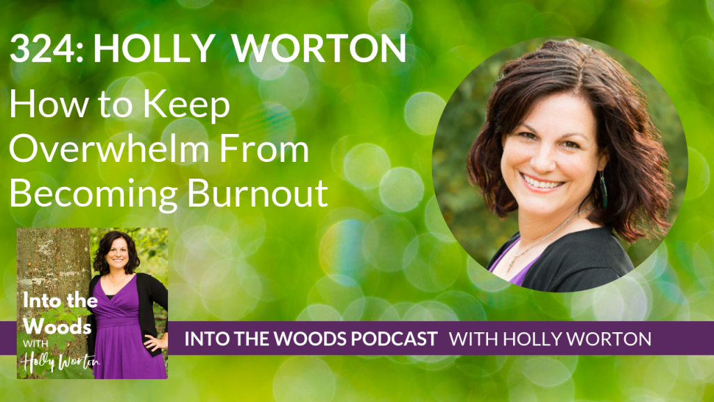 324 Holly Worton ~ How to Keep Overwhelm From Becoming Burnout